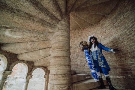 Torre di Pisa a Venezia Scala Contarini del Bovolo