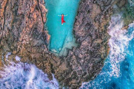 le piscine Bizantine (Vroukounda - Karpathos)