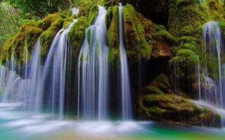 Le cascate Capelli di Venere Cilento