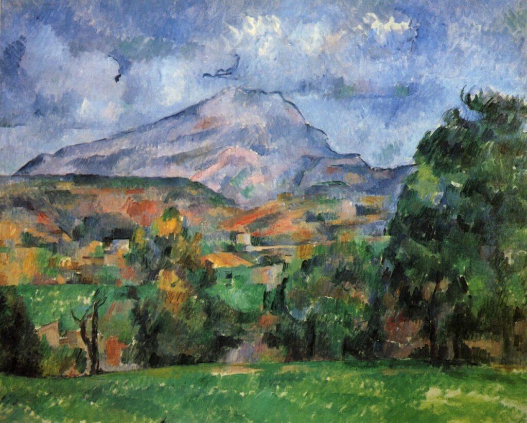 La montagna Sainte-Victoire, Cezanne