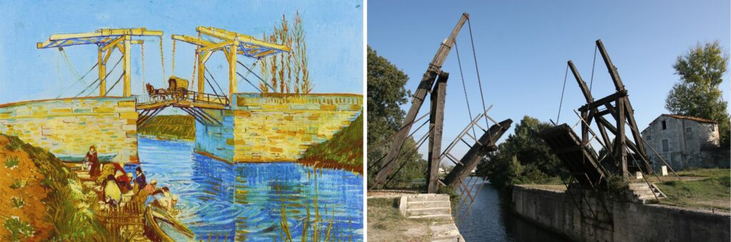 Il ponte di Langlois (1888) Van Gogh