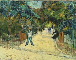 I giardini pubblici, Van Gogh