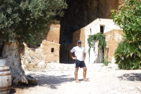 Grotta Mangiapane ingresso