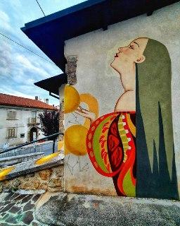 aielli cosa vedere murales e dintorni