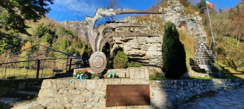 penne mozze monumento agli alpini