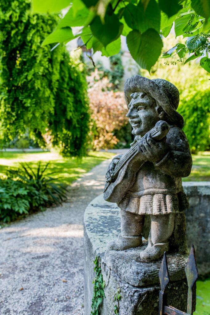 giardino segreto Castello San Pelagio