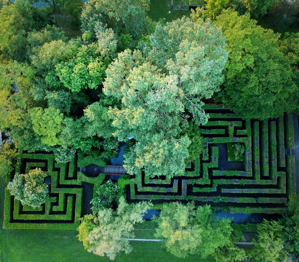 Labirinto Castello di San Pelagio